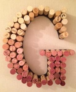 cork letter g