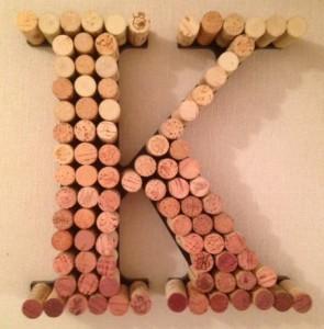 cork letter k