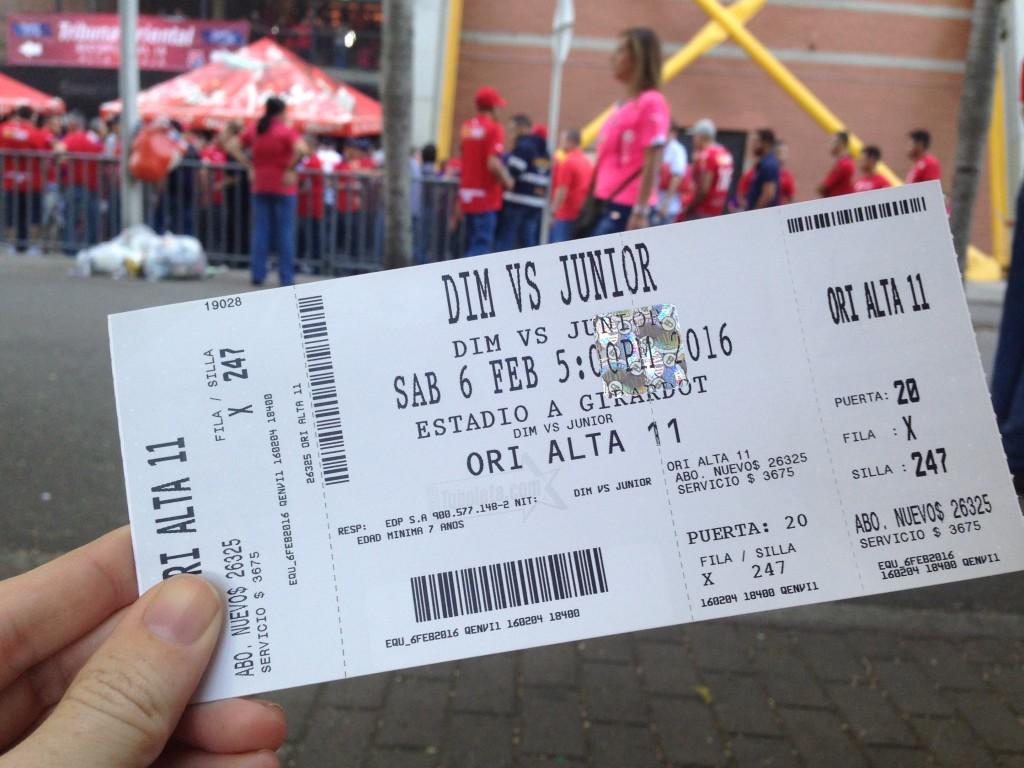 futbol ticket